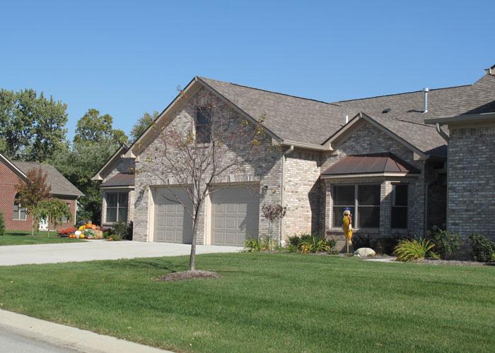 Woodside home in Hoosier Village