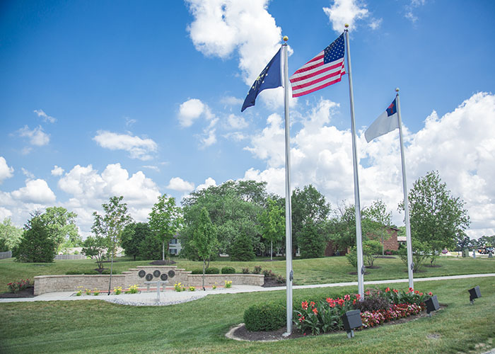 Walking paths at Hoosier Village Retirement Community