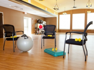 Fitness Room at Hoosier Village