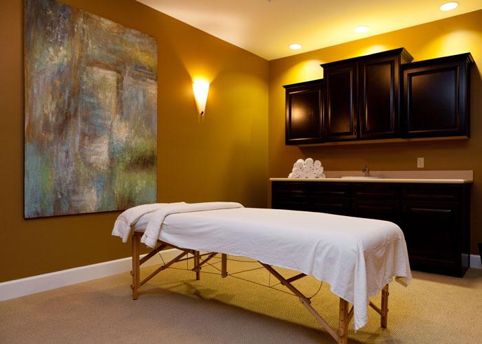 Hoosier Village Massage Room