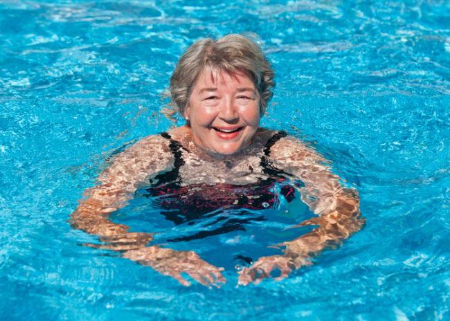 Swimming at Hoosier Village
