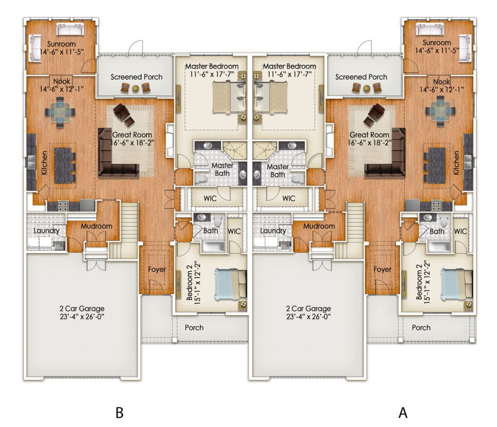 Oaks Floor Plan