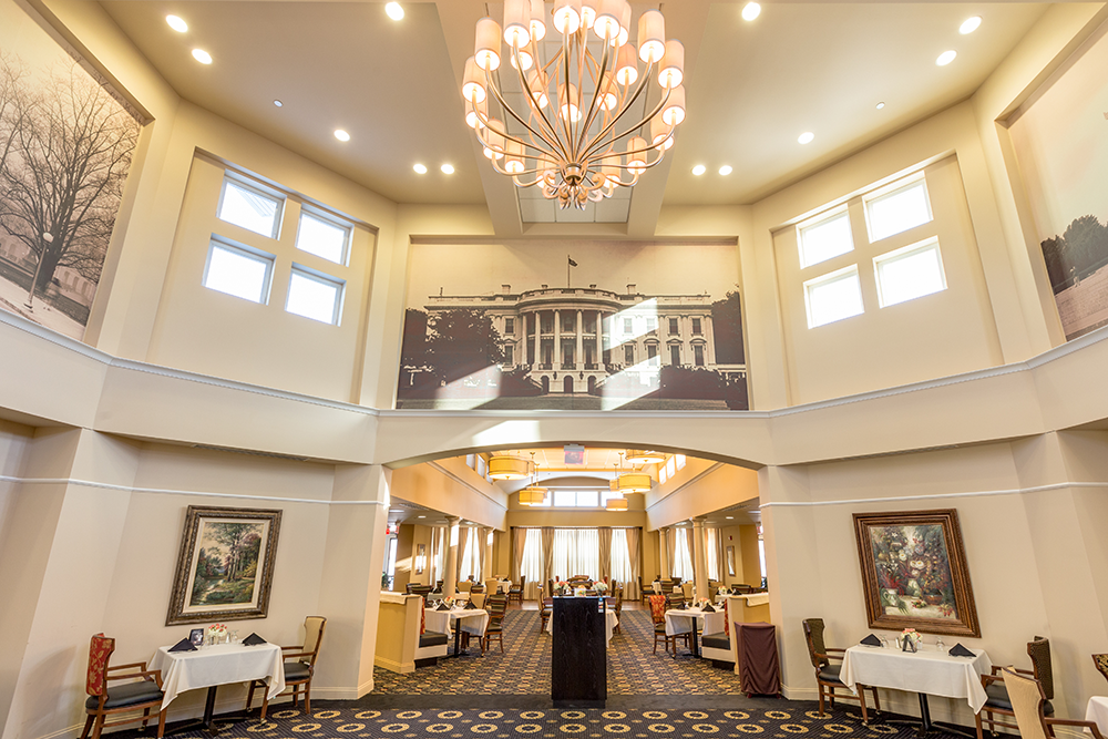 Entrance to Roosevelts Dining Room
