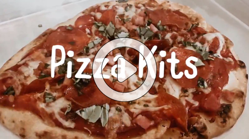 The Four Seasons' Executive Chef Camden teaches you how to make fresh pizza with a kit at home.