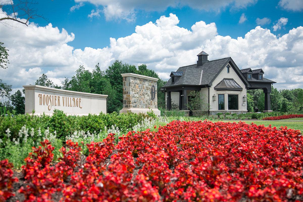 New gatehouse at Hoosier Village