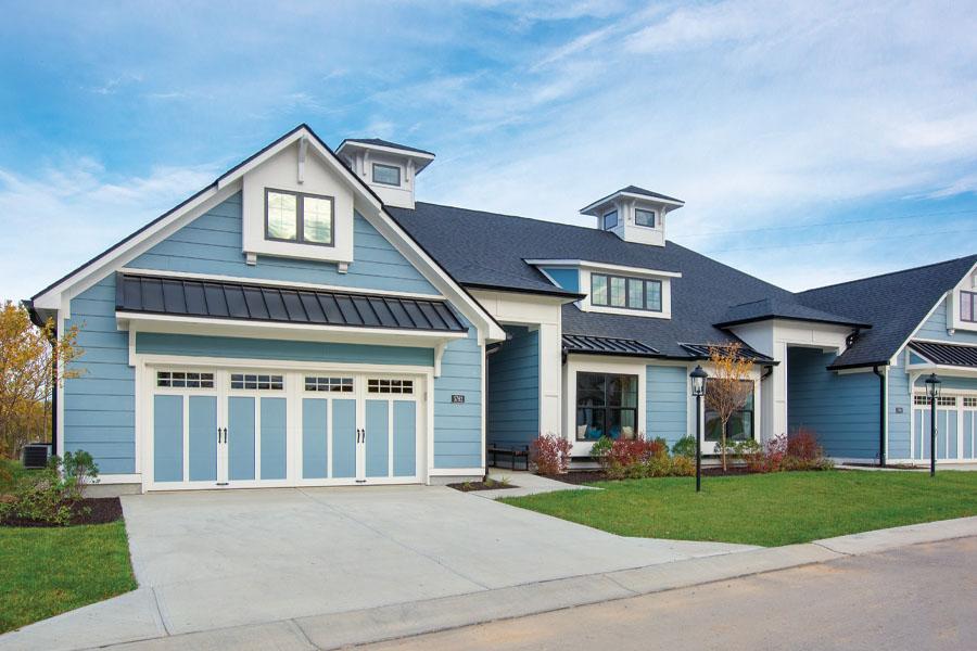 Poplar Chase luxury duplex (front view)